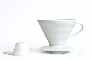 HARIO - V60 04 WHITE CERAMIC DRIPPER